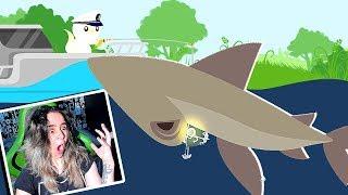 PESQUEI um TUBARÃO MARTELO!!! (CAT GOES FISHING)