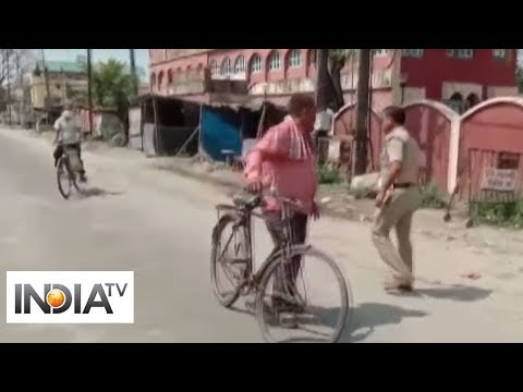 Watch: WB police