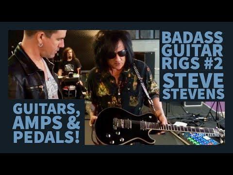 BADASS GUITAR RIGS #2 STEVE STEVENS