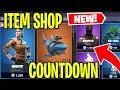 FORTNITE ITEM SHOP COUNTDOWN! | SQUADS WITH FANS! | CREATIVE MODE