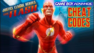 Justice League Heroes - The Flash (GBA) CHEAT CODES