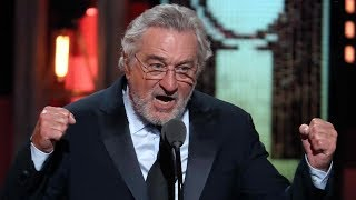 Robert De Niro apologizes for Trump's 'idiotic' behaviour