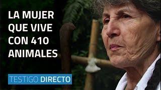 La mujer que vive con 410 animales  - Testigo Directo HD