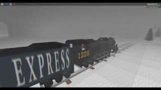 ROBLOX Polar Express Train.