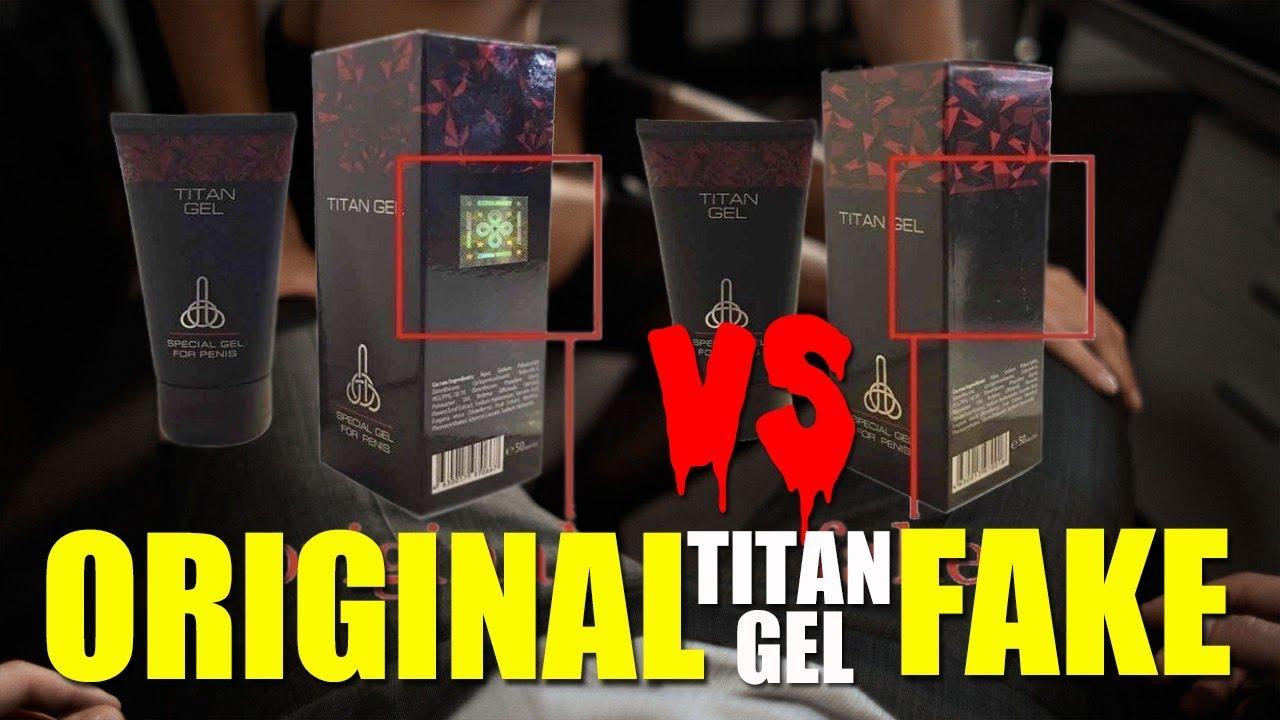 Titan Gel Asli Rusia Dan Titan Gel Palsu   Tonton Sebelum Beli