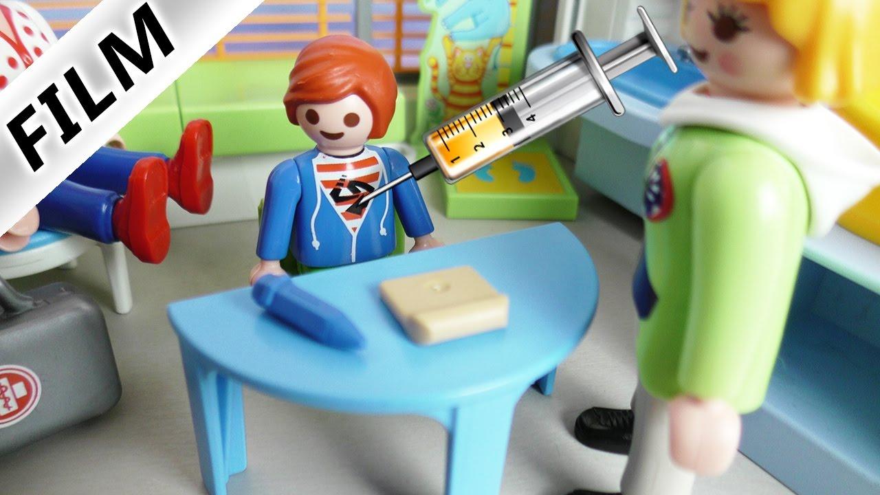 Playmobil Film Deutsch Julian Muss Zur Schuluntersuchung Ist Er