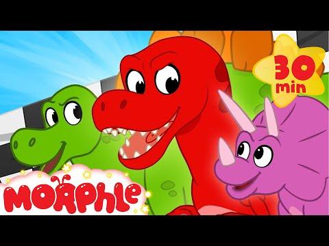 Dinosaur Race - My Magic Pet Morphle   Cartoons For Kids   Morphle TV   BRAND NEW