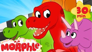Dinosaur Race - My Magic Pet Morphle | Cartoons For Kids | Morphle TV | BRAND NEW