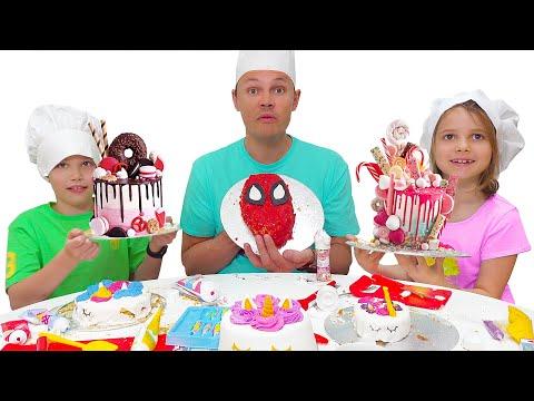 Торт Челлендж челлендж от Макс и Катя
