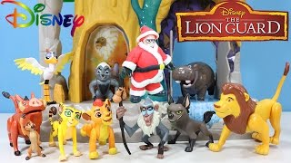 The Lion Guard Christmas Story with The Training Lair Play Set & Pride Lands Figure Set!