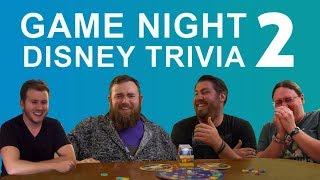 Advanced Disney Trivia Game w/ Yesterworld, Alicia Stella, and Brad Hughes (Part 2)