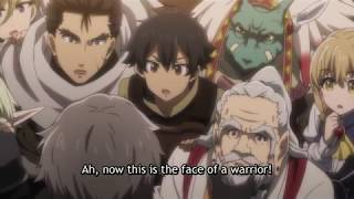 Goblin Slayer is handsome! Takes off his helmet for everyone and wants to be an adventurer!