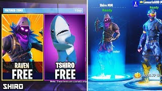 HOW TO GET THE NEW SKIN RAVEN FOR FREE! (SORTEO) FORTNITE BATTLE ROYALE! TShiro
