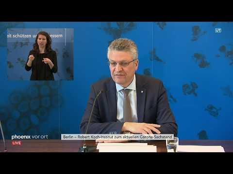 Coronavirus: RKI-Pressekonferenz Mit Präsident Lothar H. Wieler