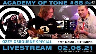 Academy of Tone #58: Ozzy Osbourne's guitar players!