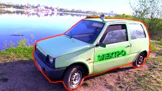 Неограниченный запас хода нашего нового самодельного электромобиля за 1300 баксов.