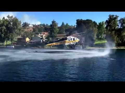 LA County Fire Department Air Operations in Calabasas, Calif.