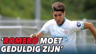 PSV-spits Romero moet geduldig zijn - VOETBAL INSIDE