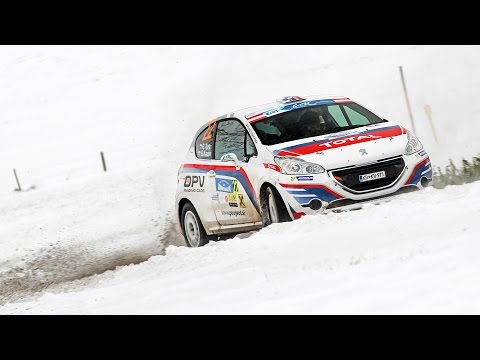 Rok Turk - Blanka Kacin (Peugeot 208 R2) : 32. Jänner rally 2015 - best moments