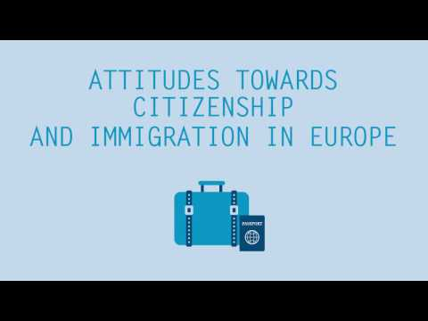 Attitudes towards Citizenship and Immigration in Europe