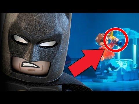 10 Mejores Secretos Escondidos en LEGO BATMAN: La Película