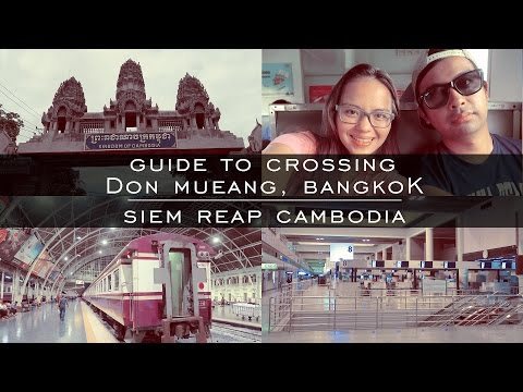 Crossing Borders: Travel Guide From Bangkok, Thailand to Siem Reap, Cambodia | Couple Travel Vlog
