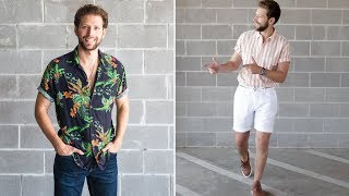 How To Style Short Sleeve Shirts This Summer!
