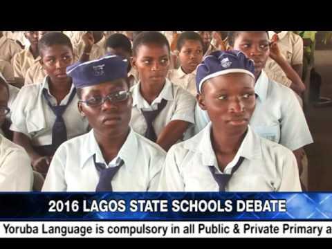 2016 LAGOS STATE SCHOOLS DEBATE
