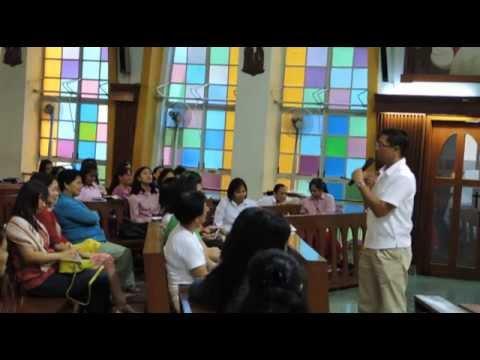 El Shaddai Tuesday prayer meeting at St. Joseph's Church, Hong Kong