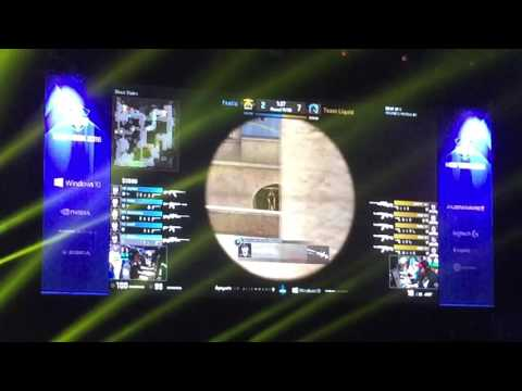 Fnatic Vs Liquid Highlights Crowd POV @ESL NYC 2016