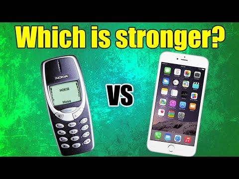 Nokia 3310 vs Hammer and Saw / DESTRUCTION...