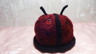 Как связать шапку для детей Божья коровка(Как связать шапку для детей Божья коровка http://bringingsuccess.ru/vyazanie.php В этом видео уроке мы будем вязать красивую..., 2015-10-24T18:26:33.000Z)