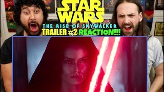 STAR WARS: THE RISE OF SKYWALKER | D23 Special Look | TRAILER #2 - REACTION!!!