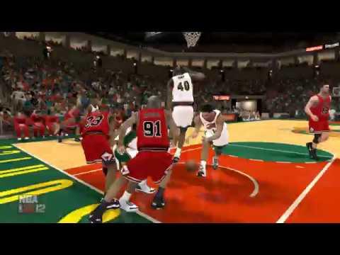 NBA 2K12 : Bulls vs Sonics 1996 (UBR Mod) - 4K (Ultra HD) PC