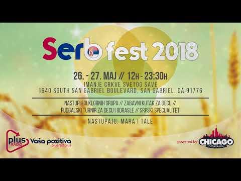 San Gabriel I 26. - 27. Maj I Serb Fest 2018 I Crkva Sv. Save I Plus Radio