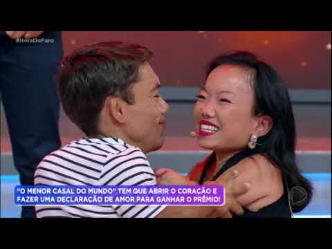 Katy e Paulinho Gigante fazem declaração de amor emocionante no Hora do Faro