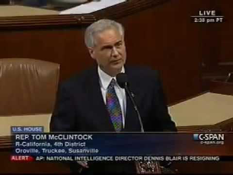Congressman Tom McClintock Tells Mexico To Butt Out