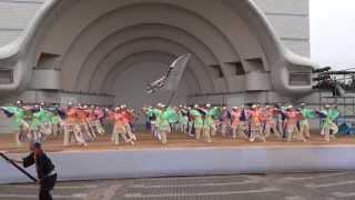 20130825 明治神宮奉納 原宿表参道元氣祭 スーパーよさこい2013(2日目...