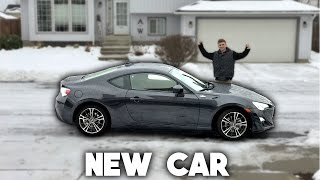 MY NEW CAR! ( Scion FR-S )