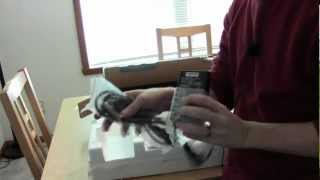aoc ips i2367fh 23 inch ultra thin bezel monitor unboxing