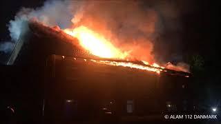 04.10.2019 - Voldsom brand i lejlighed
