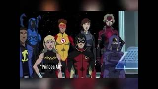 Aqualad is now Aquaman young Justice 1x01