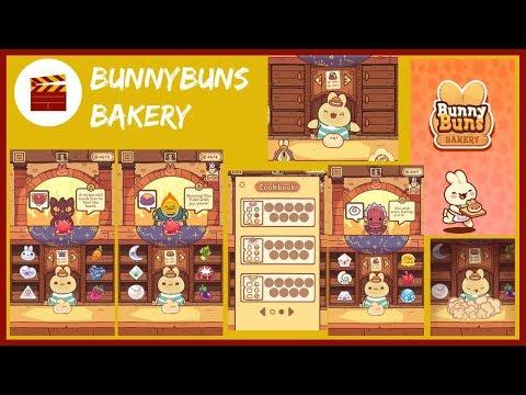 BunnyBuns Walkthrough - BunnyBuns Bakery And New Cupcake Recipe (iOS)