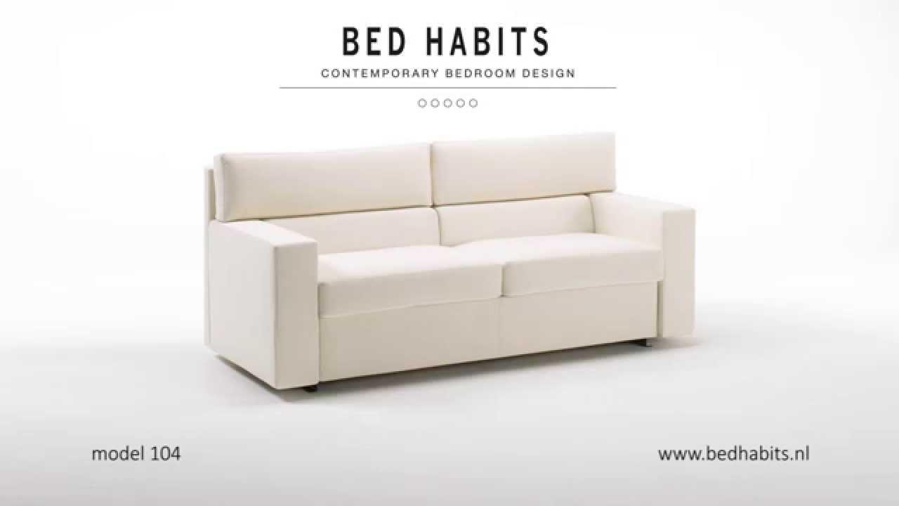 Slaapbank Design Outlet.Design Slaapbank Model 104 Bed Habits Amsterdam Youtube