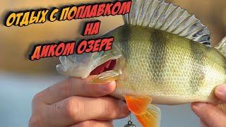 Рыбалка на озере Спиннинг и поплавок