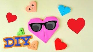 Оригами из бумаги | Как сделать СЕРДЕЧКО | Поделки для детей