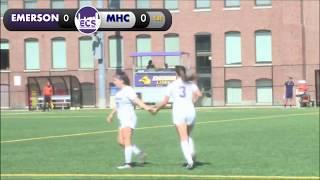 Emerson Women's Soccer vs Mount Holyoke