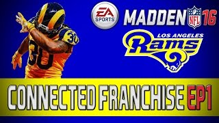Madden 16: Los Angeles Rams Connected Franchise - Year 1 Sim & Relocation [EP1](, 2016-02-11T22:00:02.000Z)