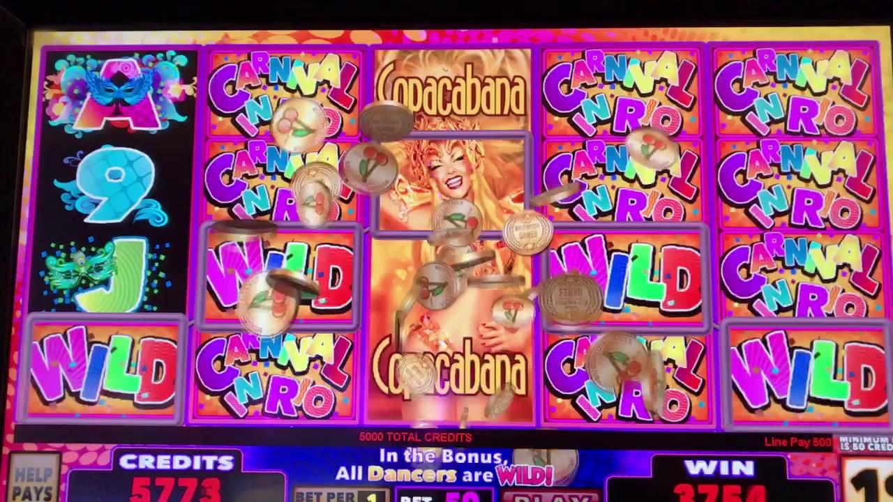 Carnival in rio slot machines borgata casino resort spa