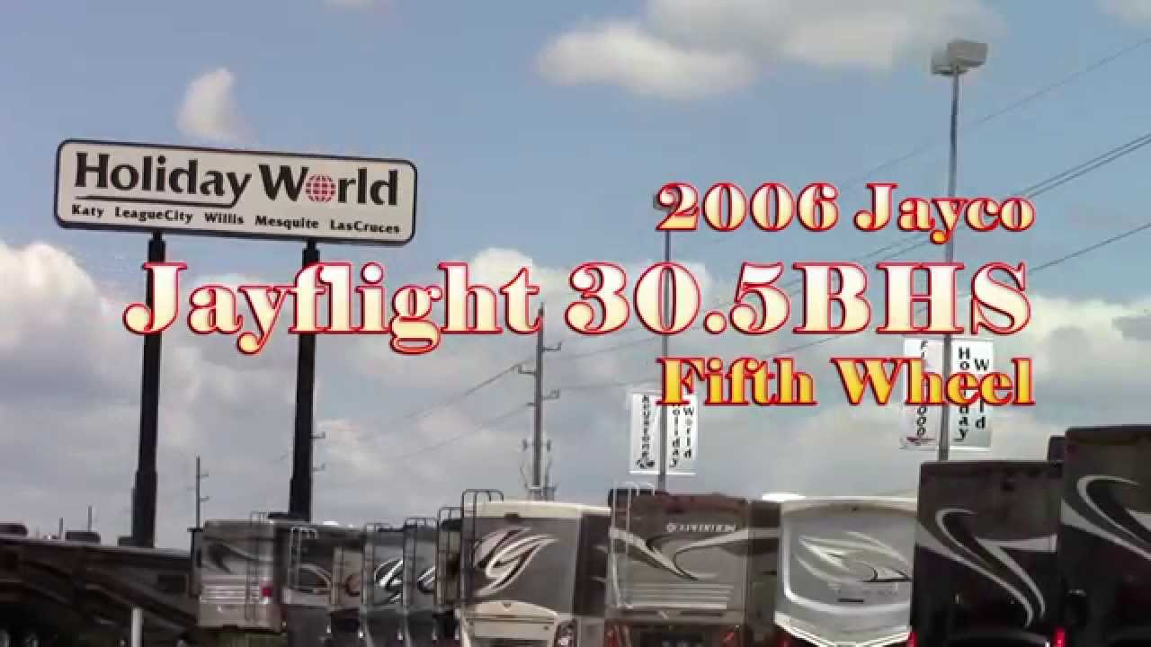 Preowned 2006 Jayco Jayflight 30 5BHS Fifth Wheel RV - Holiday World of  Houston in Katy, Texas